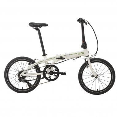 Vélo Pliant TERN LINK C8 Blanc/Vert