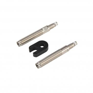 Prolongadores de válvula EFFETO MARIPOSA 45 mm (x2) + Llave