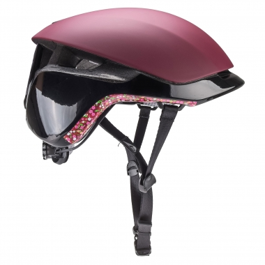 Casque BOLLE MESSENGER PREMIUM Bordeaux/Liberty