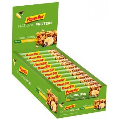 Pack de 24 Barres Protéinées POWERBAR NATURAL PROTEIN BAR (40 g)