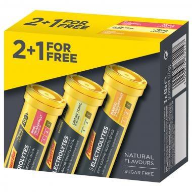 Pack de 2+1 Boisson Électrolytes POWERBAR ELECTROLYTES MULTIPACK