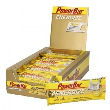 Lote de 25 Barras Energéticas POWERBAR ENERGIZE C2MAX (55 g)