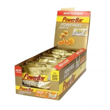 Pack de 16 Sachets de Bonbons POWERBAR POWERGEL SHOTS (60 g)