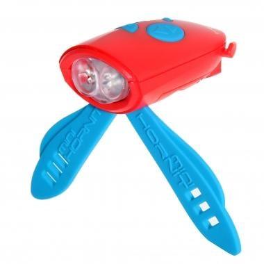 Luz delantera sonora HORNIT MINI Rojo/Azul