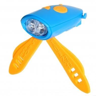 Luz delantera sonora HORNIT MINI Azul/Naranja