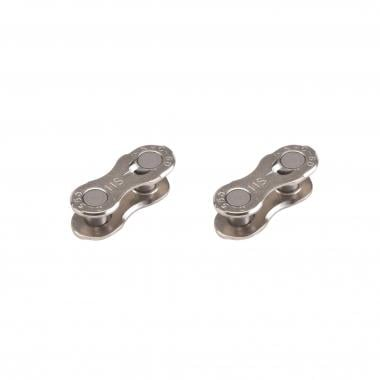 Attaches Rapides KMC 11V Silver (x2)