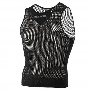 Camiseta interior SIXS SMR2 Sin mangas Negro