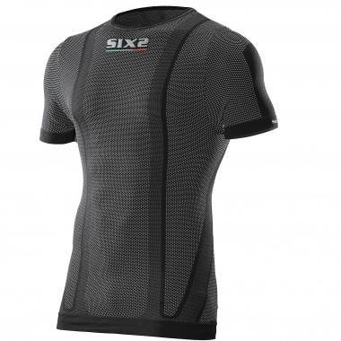 Camiseta interior SIXS TS1 Mangas cortas Negro