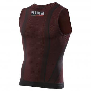 Sous-Vêtement Technique SIXS SMX Sans Manches Noir/Rouge