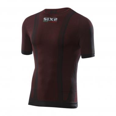 Sous-Vêtement Technique SIXS TS1 Manches Courtes Noir/Rouge