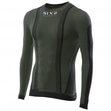 Sous-Vêtement Technique SIXS TS2 Manches Longues Noir/Vert