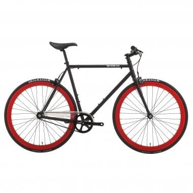Bicicletta Fixie PURE FIX CYCLES ORIGINAL ECHO Nero/Rosso