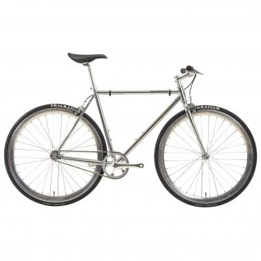 Bicicletta Fixie PURE FIX CYCLES ORIGINAL OSCAR Argento