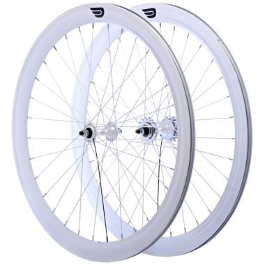 Coppia di Ruote PURE FIX CYCLES 700C 50 mm Bianco