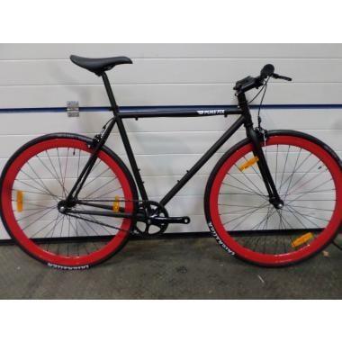 CDA - Vélo Fixie PURE FIX CYCLES ORIGINAL THE ECHO Noir/Rouge Taille 54