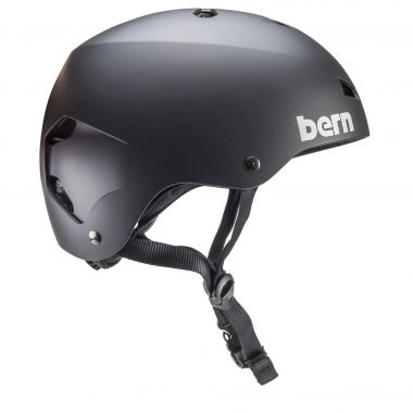 Casco BERN MACON EPS Nero