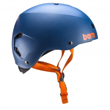 Casco BERN MACON EPS Blu