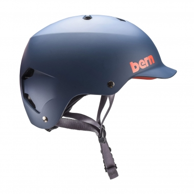 Casco BERN WATTS EPS Blu
