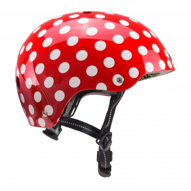 Casque NUTCASE STREET SIMI MINI Rouge/Blanc