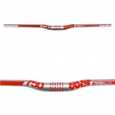 Cintre ANSWER PROTAPER 750 Rise 12,7 mm 31,8/750 mm Argent/Rouge
