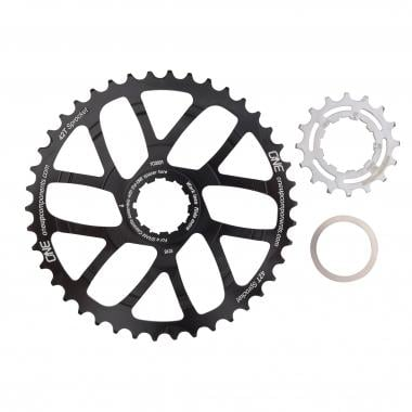 Kit de Conversion 40/42 Dents ONE UP COMPONENTS pour Cassette 10V Shimano/Sram avec Pignon 16 Dents Noir