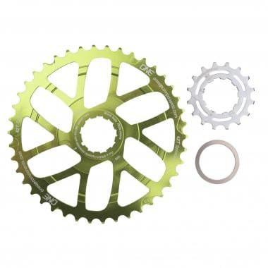 Kit de Conversion 40/42 Dents ONE UP COMPONENTS pour Cassette 10V  Shimano/Sram avec Pignon 16 Dents Vert