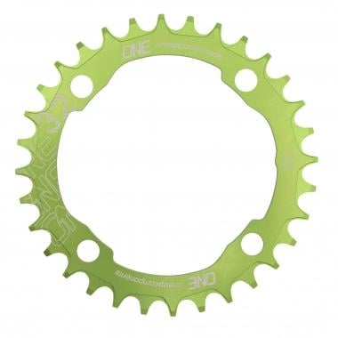 Monocorona ONE UP COMPONENTS NARROW WIDE 9/10/11V 4 Fori 104 mm Verde