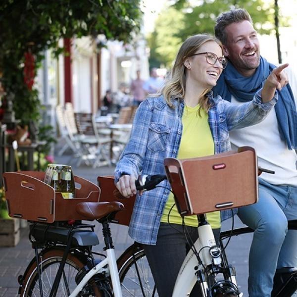 fahrradkorb hinten klickfix radkiste 2 fix probikeshop. Black Bedroom Furniture Sets. Home Design Ideas