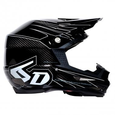 Casque 6D ATB-1 CARBON ATTACK Noir