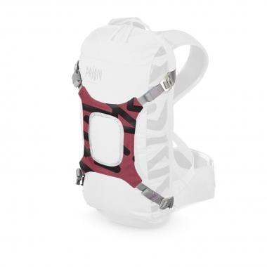 Portacasco para mochila modular PRISM E-HELMET Rojo/Negro
