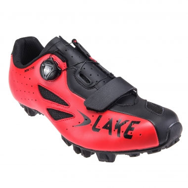 Zapatillas MTB LAKE MX 176 Rojo 2017