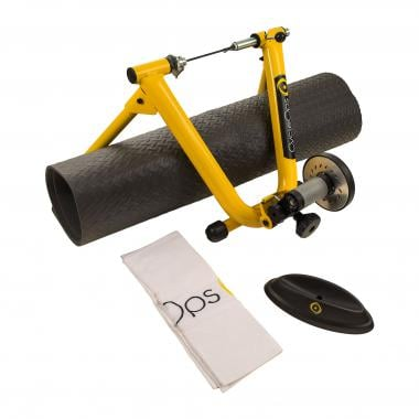 Pack Home Trainer CYCLEOPS MAG YELLOW + Kit Winter Training