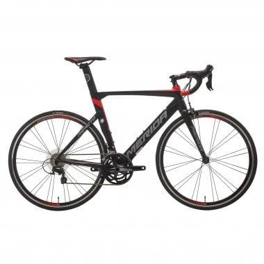 Vélo de Course MERIDA REACTO 400 Shimano 105 5800 36/52 Noir/Rouge 2017