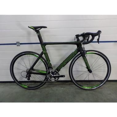 CDA - Vélo de Course MERIDA REACTO 4000 Shimano 105 5800 36/52 Noir/Vert 2017 Taille 54