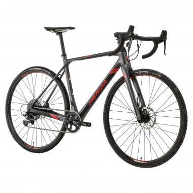 Vélo de Cyclocross MERIDA MISSION CX 5000 Sram Apex 1 40 Dents Gris/Noir/Rouge
