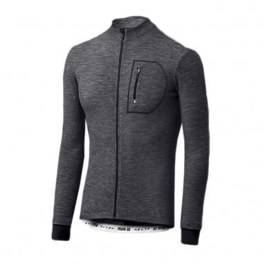Maillot PEDALED KAIDO WOOL Manches Longues Noir