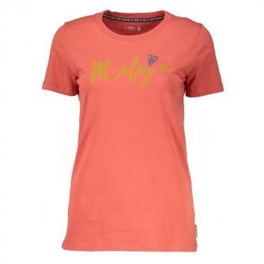 Camiseta MALOJA HUFEISENKLEE Mujer Naranja 2017