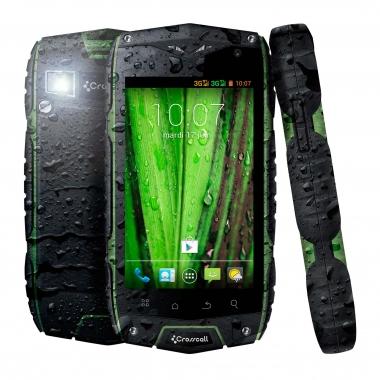 Smartphone CROSSCALL ODYSSEY+ Nero/Verde