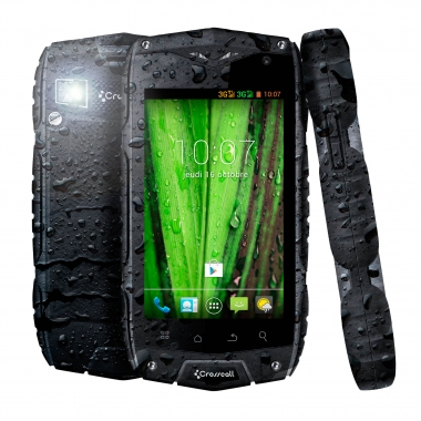 Smartphone CROSSCALL ODYSSEY+ Negro/Gris