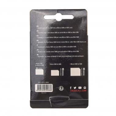 Adaptateurs CROSSCALL pour Cartes SIM Nano/Micro/Mini