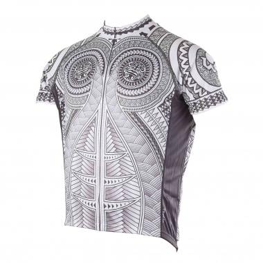 Maillot PRIMAL WEAR HAKA Manches Courtes Gris 2017
