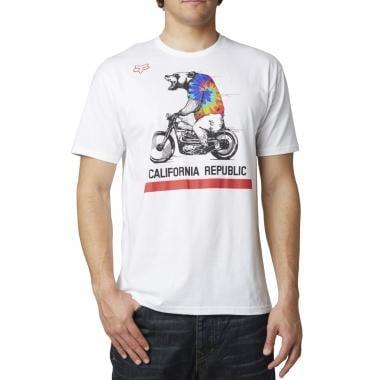 Camiseta FOX BEAR REPUBLIC Blanco 2015