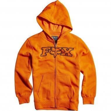 Sudadera con capucha FOX LEGACY ZIP Junior Naranja