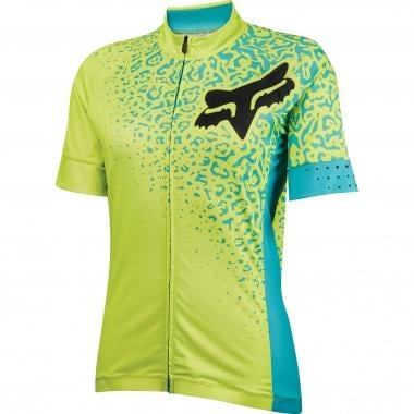 Maillot FOX SWITCHBACK COMP Mujer Mangas cortas Amarillo 2016