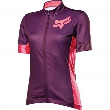 Maillot FOX SWITCHBACK Mujer Mangas cortas Violeta 2016