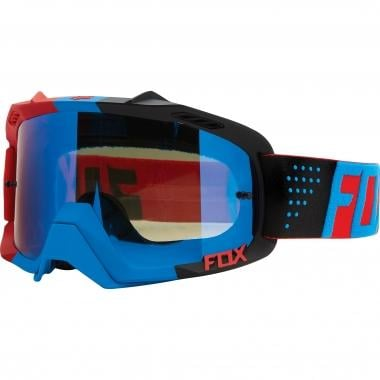 Masque FOX AIR DEFENCE LIBRA Bleu/Rouge Écran Blue Spark