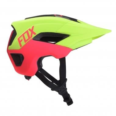 Casque FOX METAH GRAPHICS Jaune Fluo