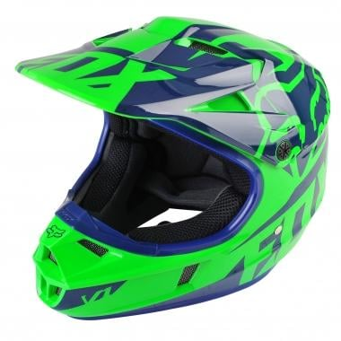 Casco FOX V1 RACE Niño Verde
