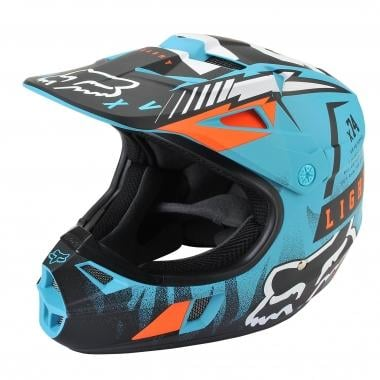 Casco FOX V1 RACE Bambino Blu