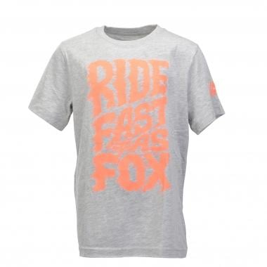 T-Shirt FOX LIQUIFY Junior Gris 2016